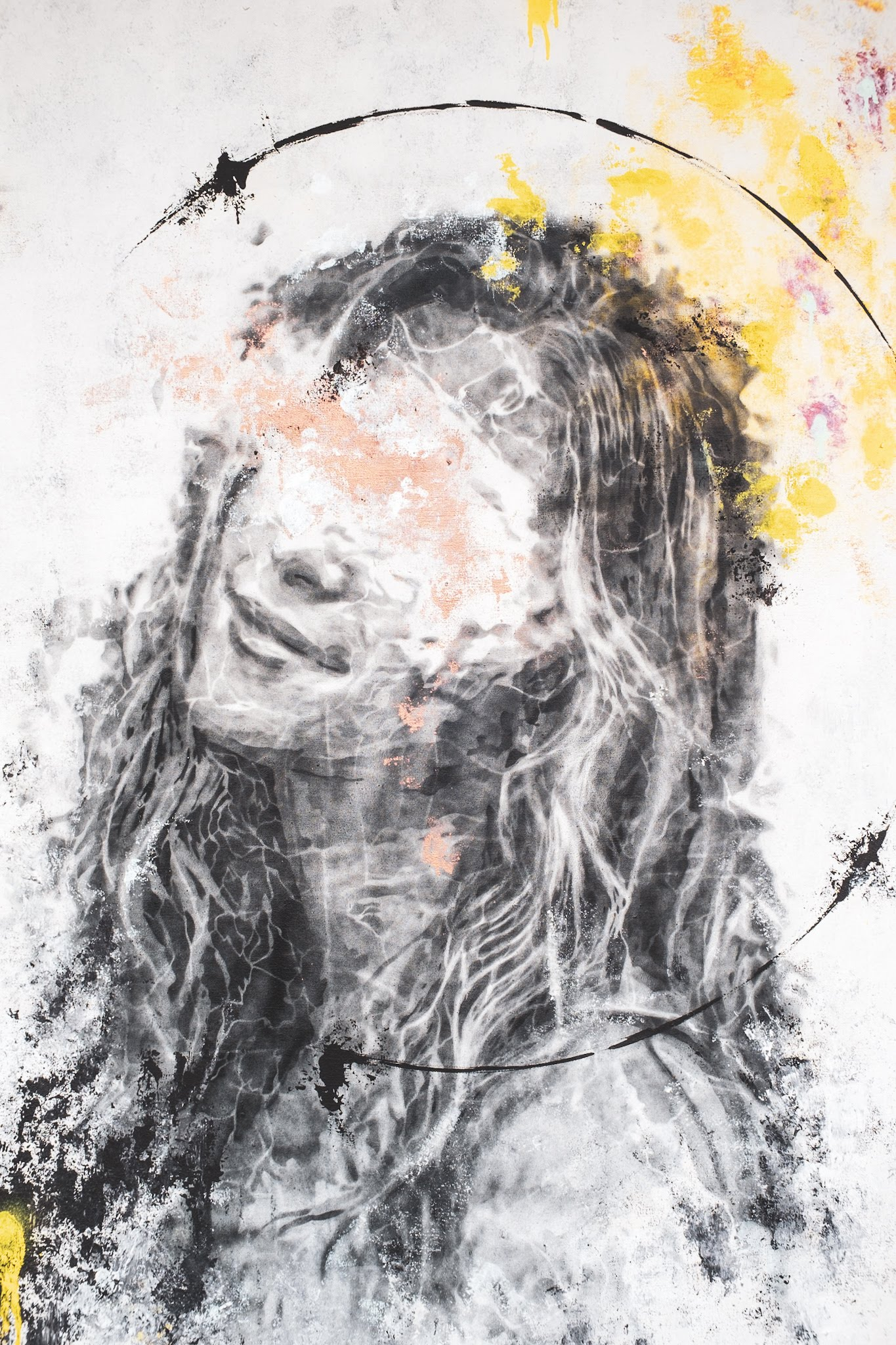 untitled II sebastian eismann handcut stencil art