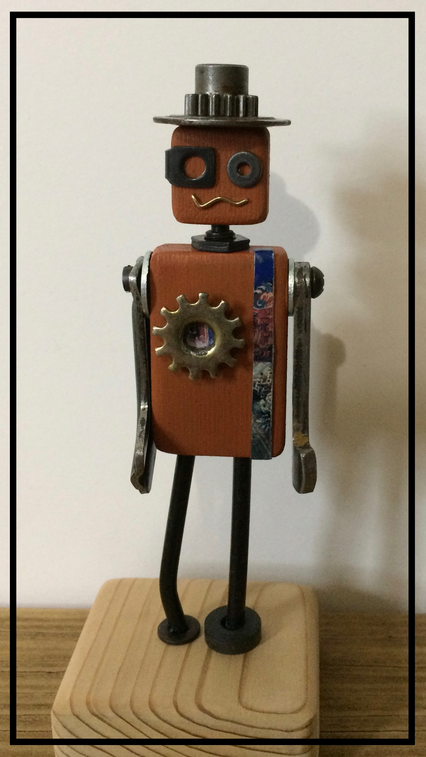 Upcycled robot