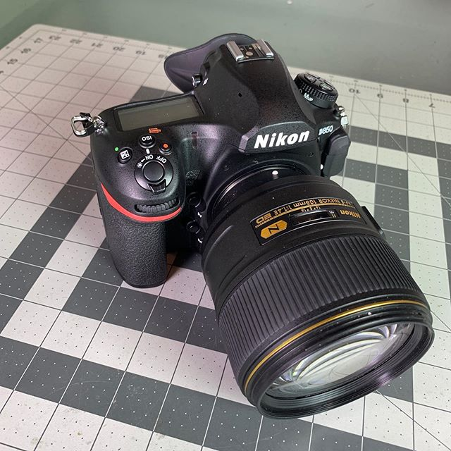 Weapon of choice. #NikonD850