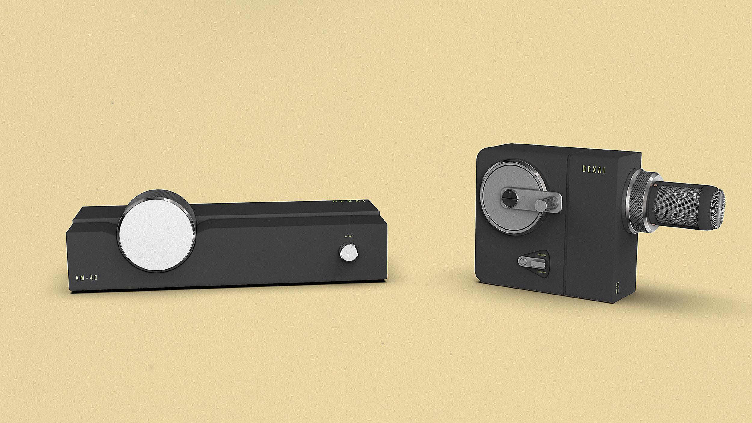 Dexai AM-40 Audio Memory Reader  Dexai SC-40 Sound Capturer