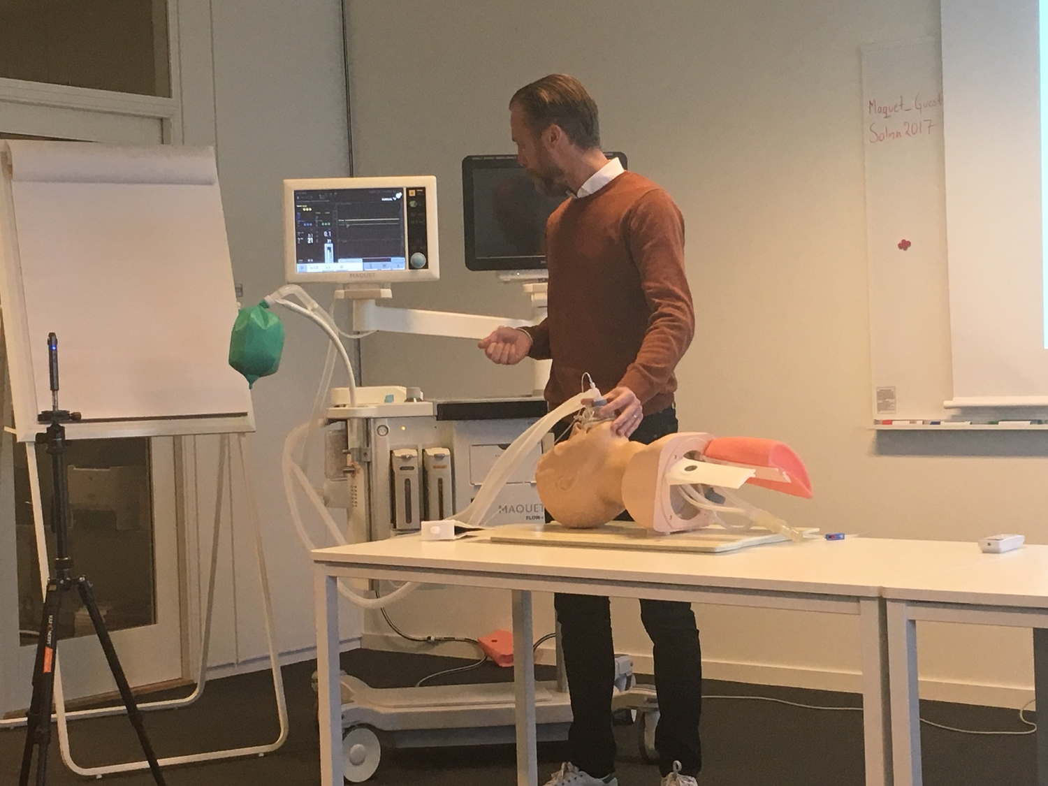 Introduction seminar about Anaesthesia machines.