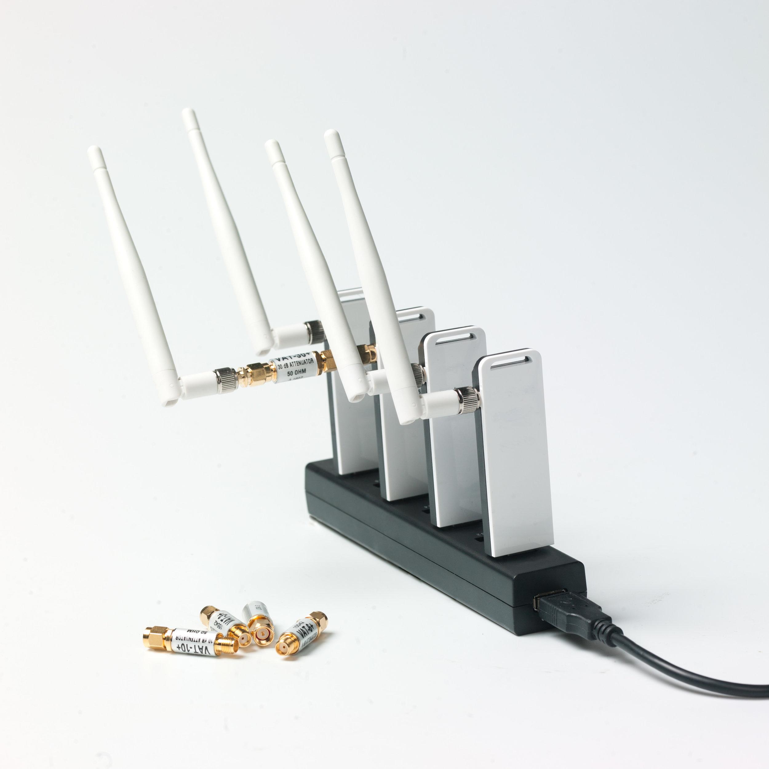 A conceptual Wifi range divider
