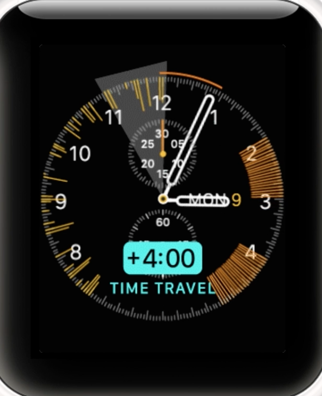 User can also determine monitoring periods in advance through the Travel Time feature.
