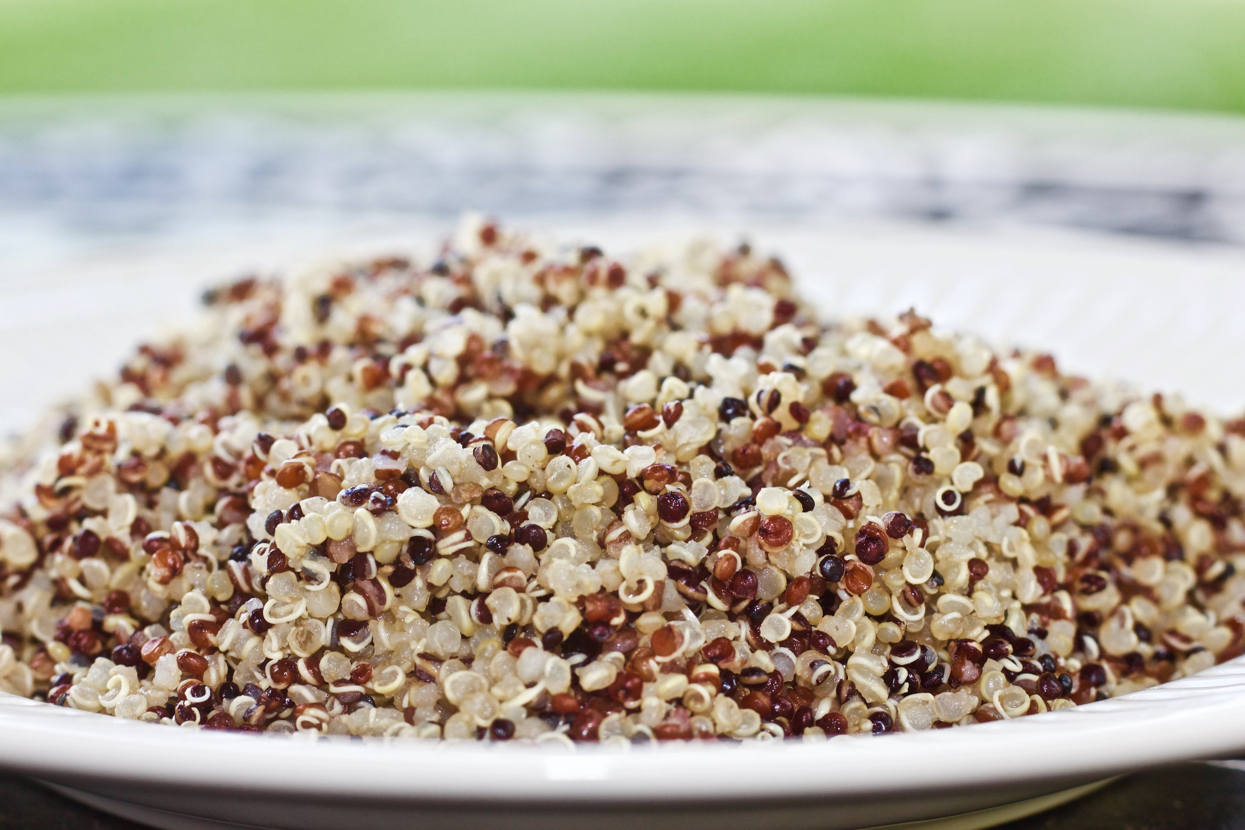 Not sure why everyone loves QUINOA? Read about it's health benefits. -