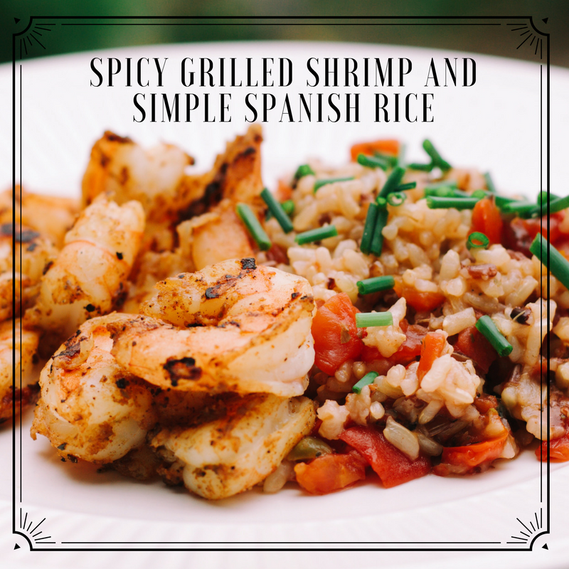 Looking for another fast meal?  Try our Spicy Gilled Shrimp -