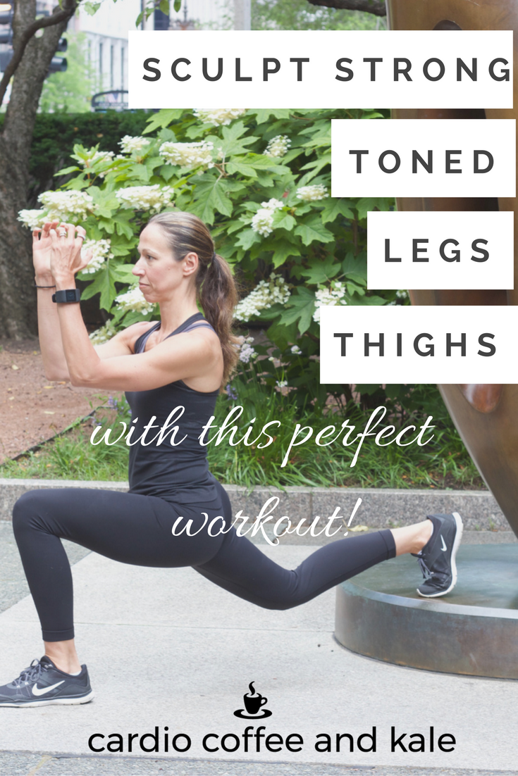 STRONG TONED LEGS AND THIGHS WORKOUT