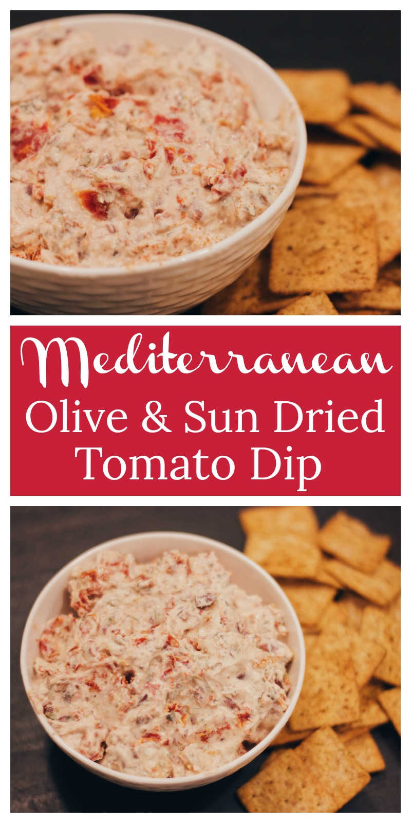 This is the perfect, guilt-free dip to serve at parties, and your friends will never suspect this Mediterranean Olive and Sun Dried Tomato Dip is a healthy snack! cardiocoffeeandkale.com!  .jpg