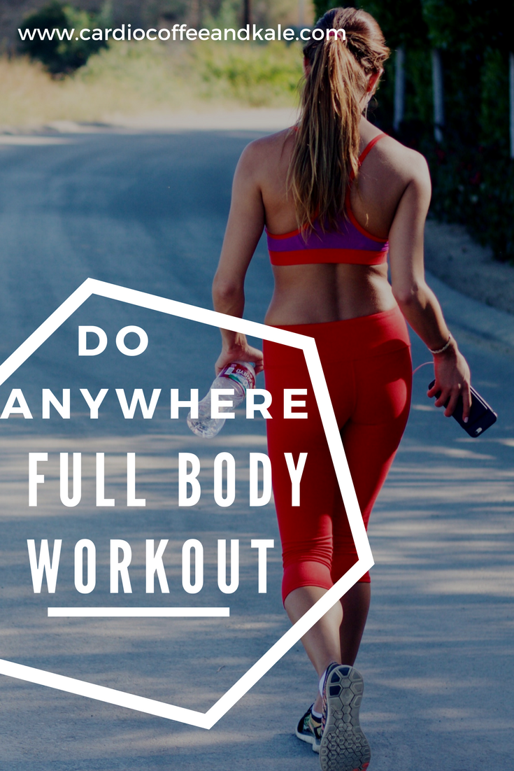 I love a workout that requires little to no equipment! This is a perfect workout to do at home when you want to burn calories and strengthen your full body. You WILL feel the burn on these lower body sets and I LOVE IT! Grab a friend and do this one today! www.cardiocoffeeandkale.com