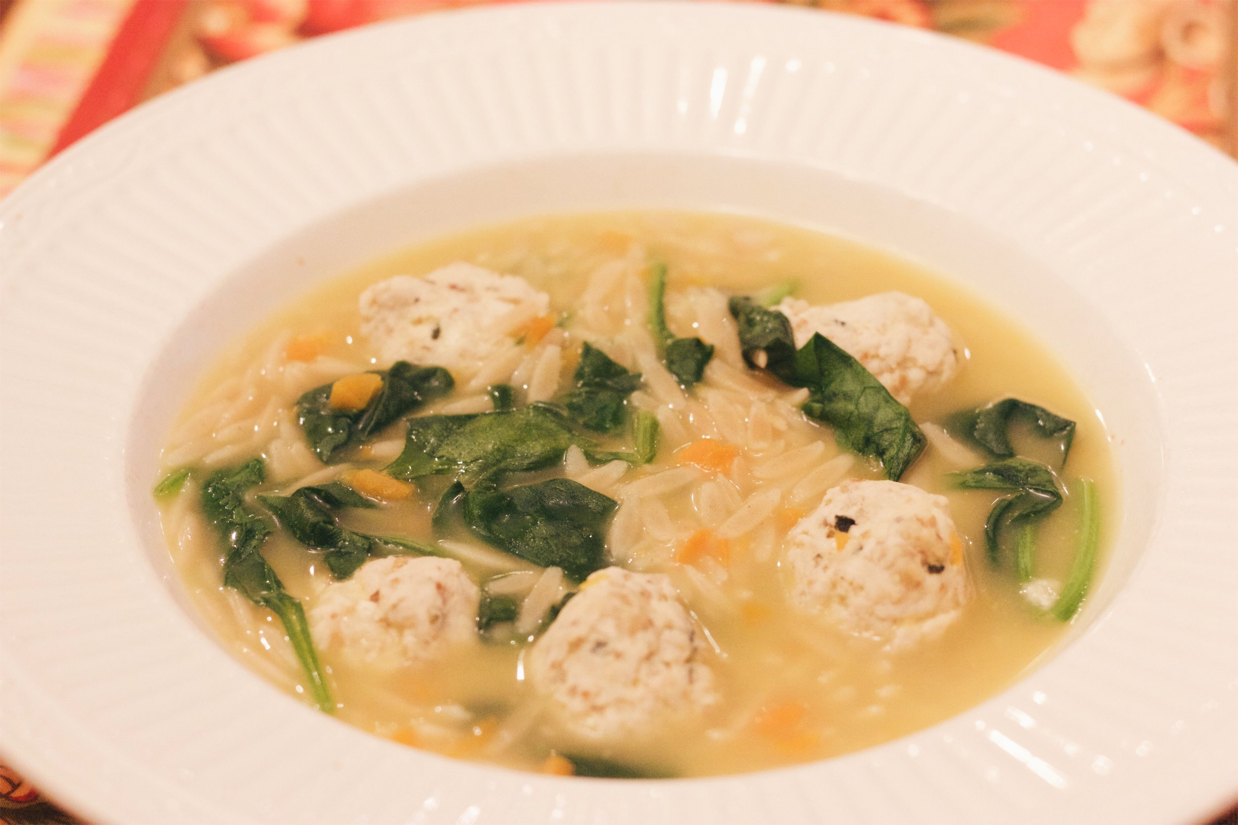 Looking for a lighter version of the Italian favorite? Try this yummy Skinny Wedding Soup with less than half the calories of the original! www.cardiocoffeeandkale.com