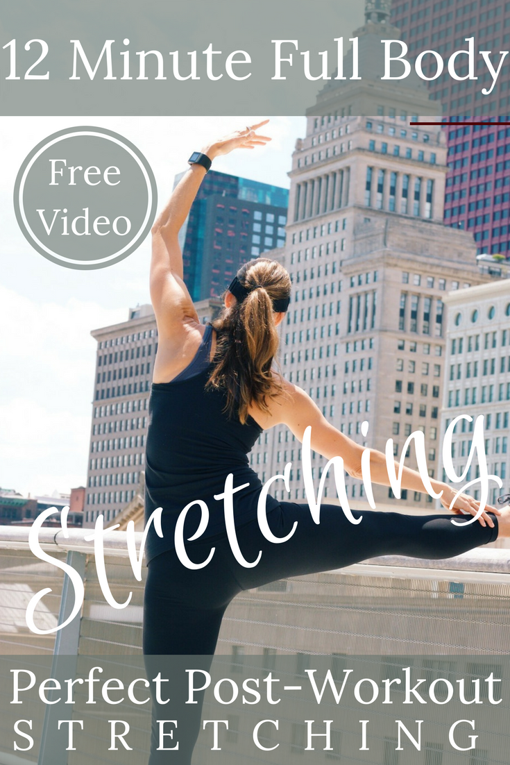 12 Minute Full Body Stretching Video! Perfect for post-workout stretching or anytime you need to relax!
