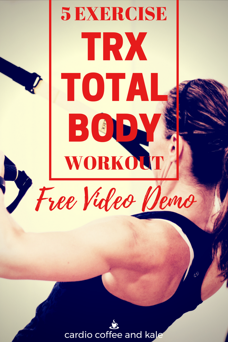 Mix it up and try something new! This TRX workout uses compound exercises to boost your metabolism and build lean muscle! Try this series for a little different workout! www.cardiocoffeeandkale.com