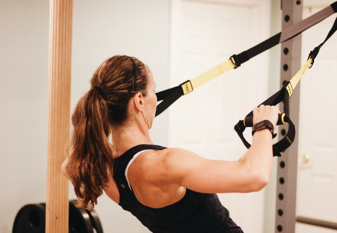 The Absolute Total Body TRX Workout www.cardiocoffeeandkale.com