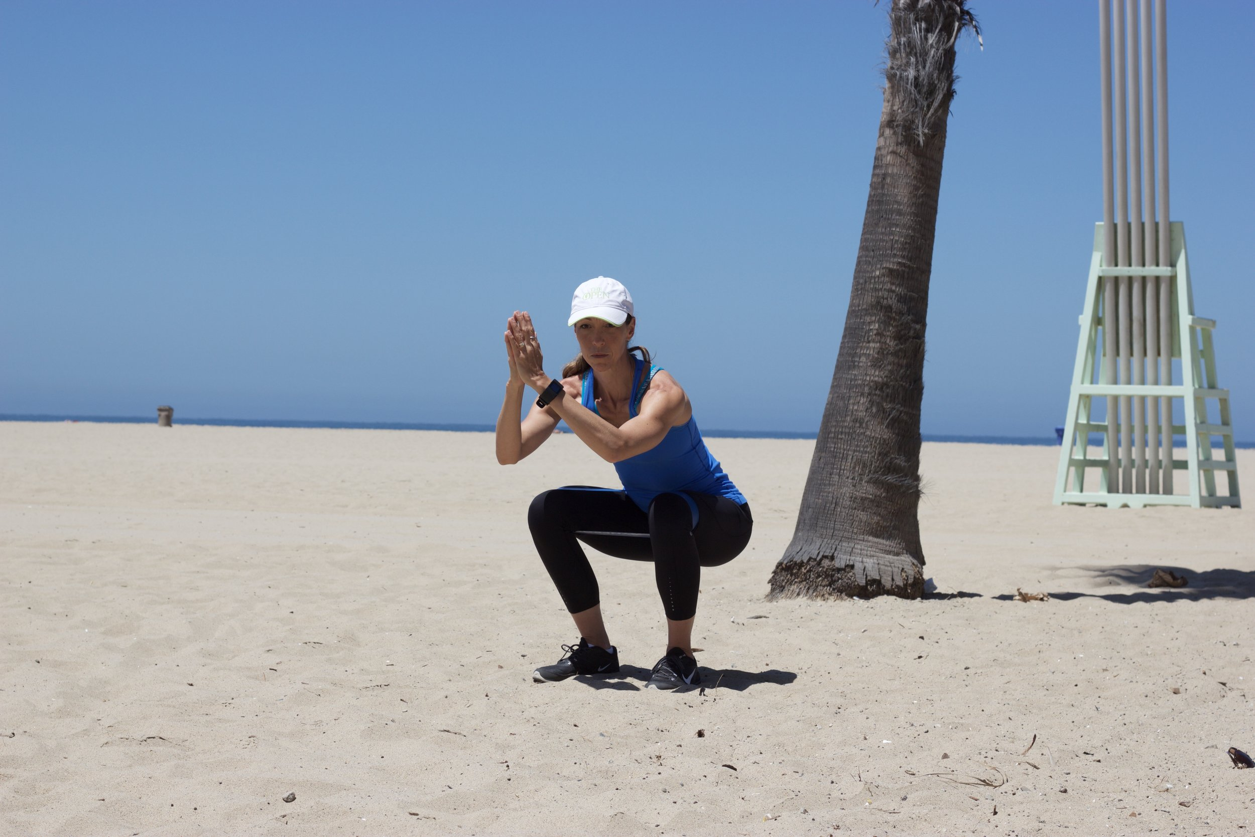 Outdoor Lower Body Band Workout