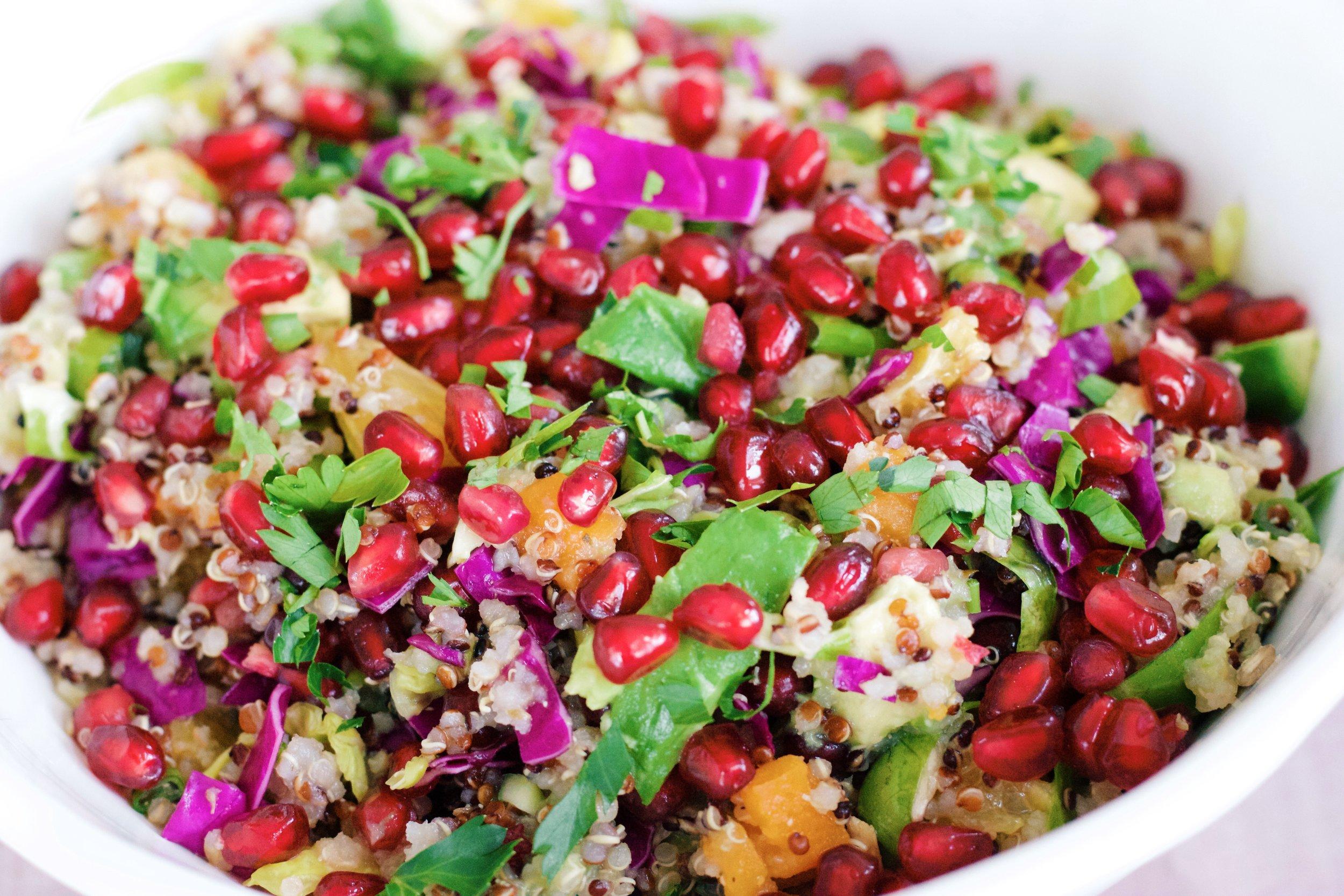 Superfood Citrus Quinoa Salad
