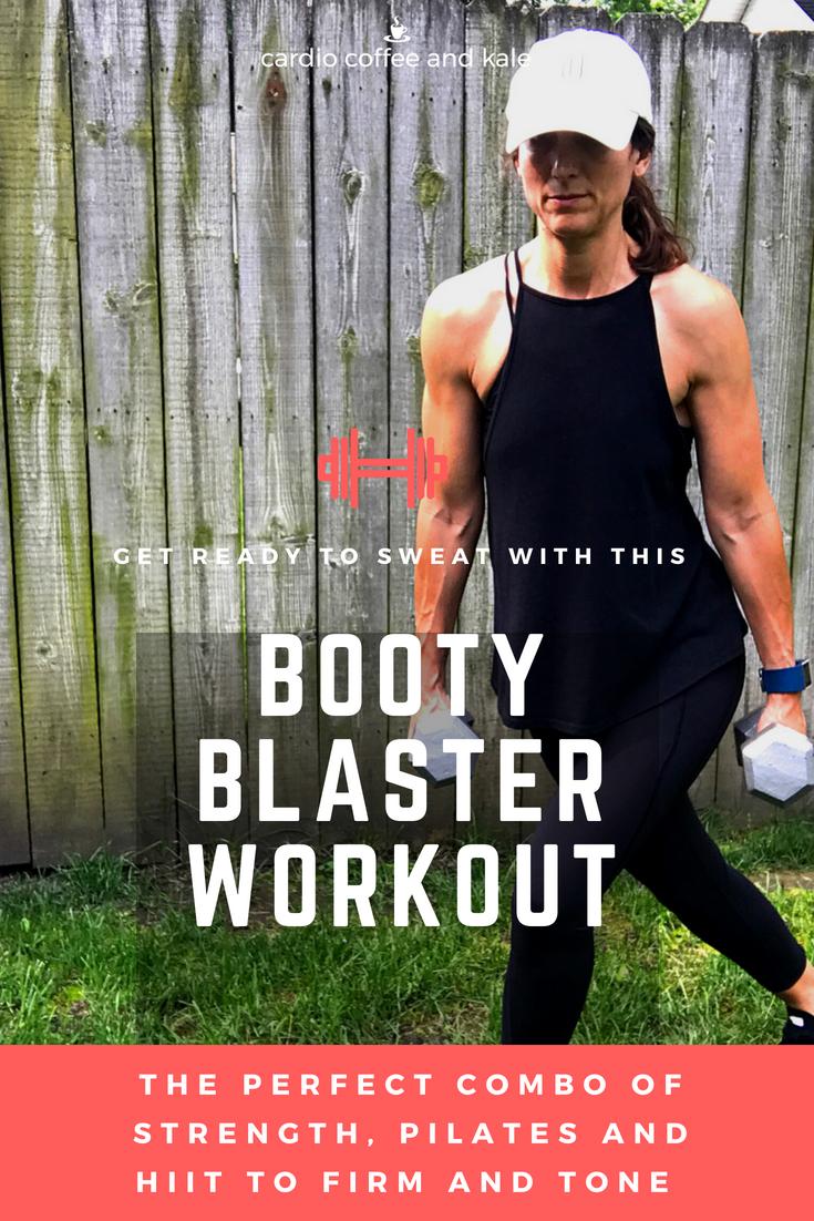 booty blaster lower body workout www.cardiocoffeeandkale.com