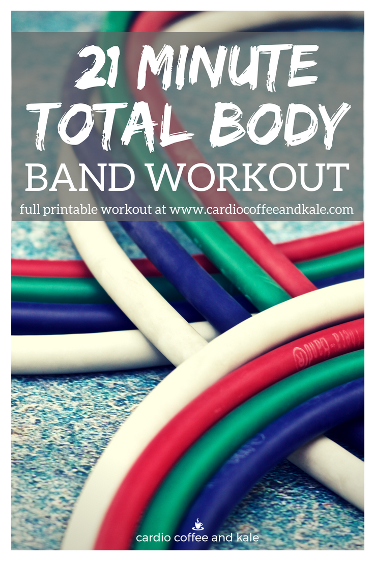 There are 2 reasons this workout is perfect for home or travel!  It only uses bands…and it is a total body workout that you can do in only 21 minutes!  How perfect is that?  #bandworkout #workout #totalbody #fullbody #fitness #fitnessmotivation #fitnessgoals #healthylifestyle #fitnesslifestyle #healthy #bands #strengthworkout #fitgirl #motivation #vacation #travel #vacationworkouts #healthylife #strongnotskinny #fitnessgoals