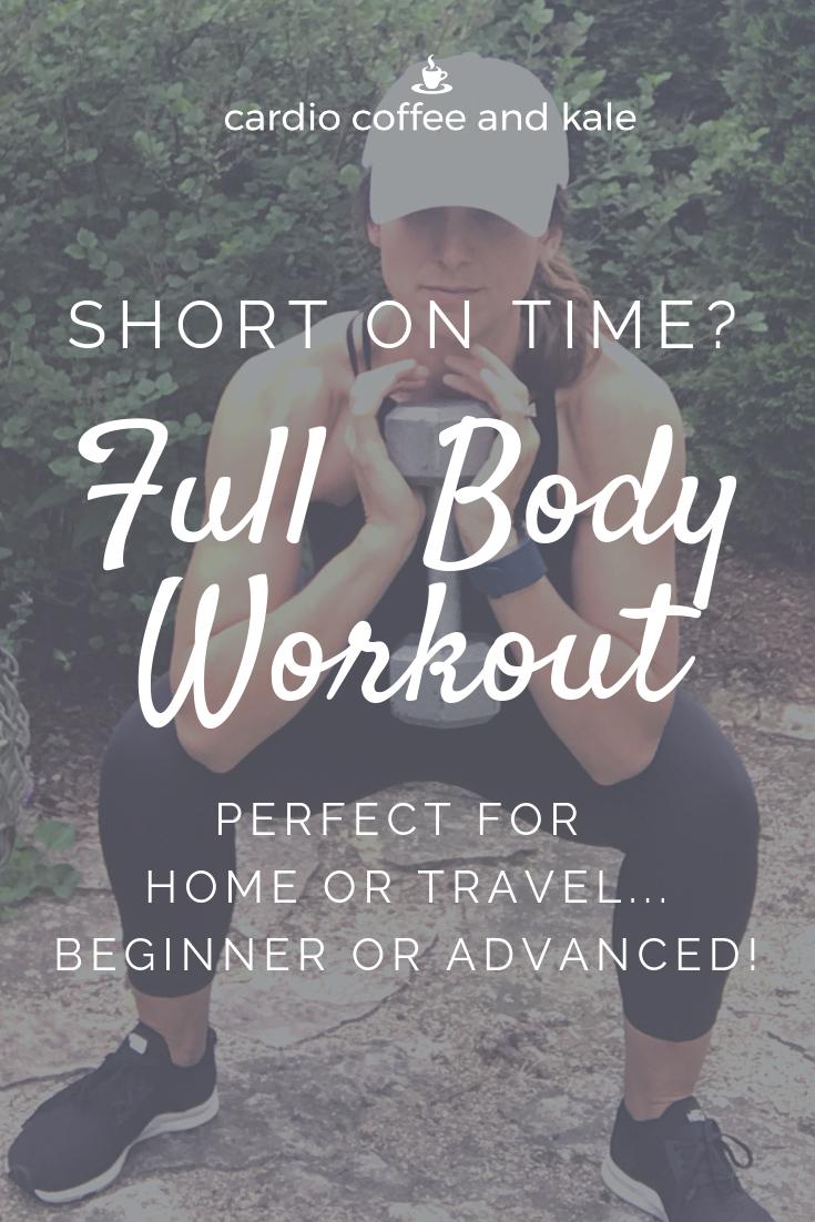 full body workout. www.cardiocoffeeandkale.com