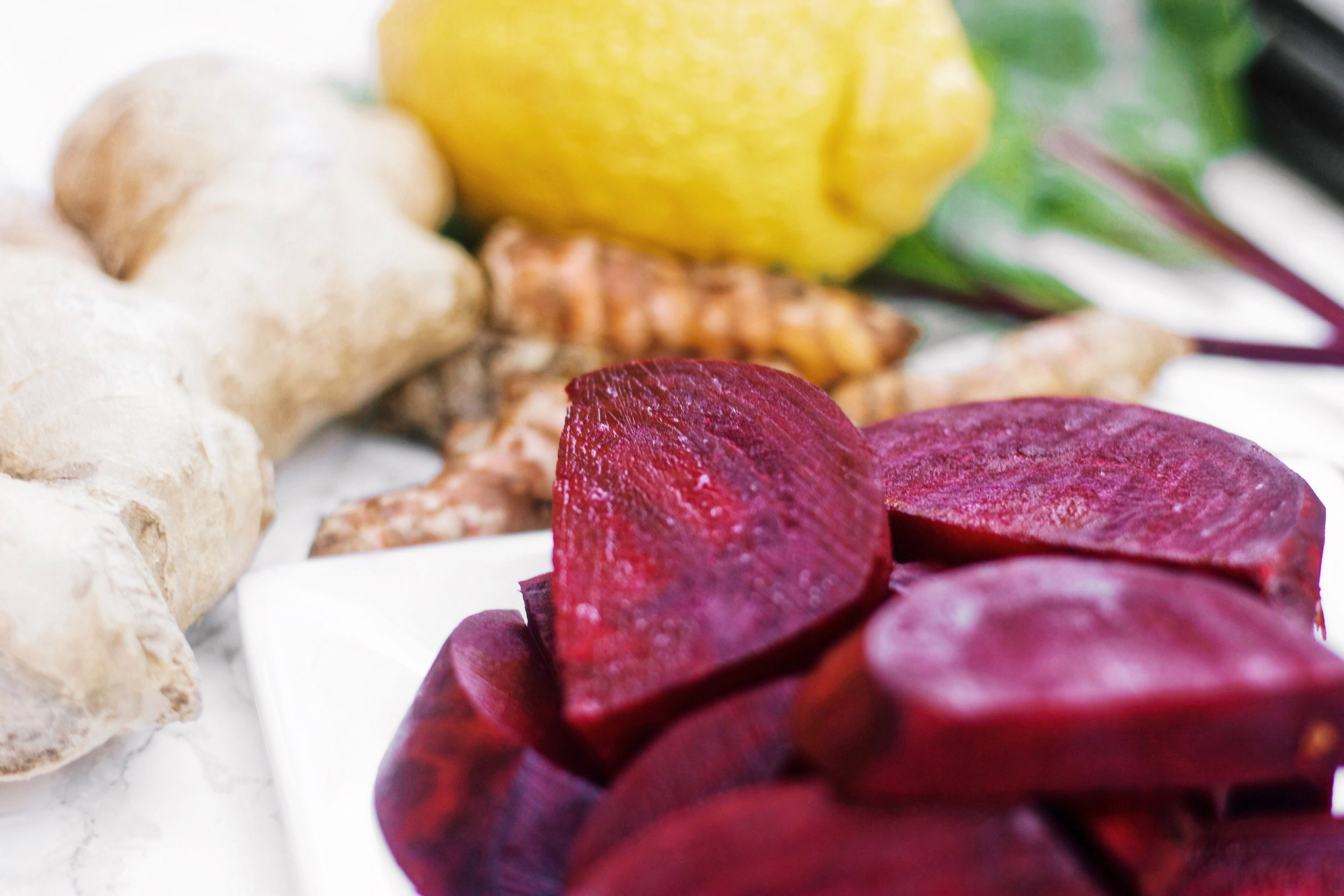 How to Make a Superfood Beet Juice Shot Without a Juicer