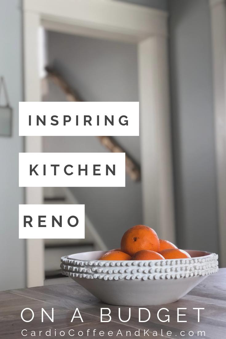 kitchen reno. www.cardiocoffeeandkale.com