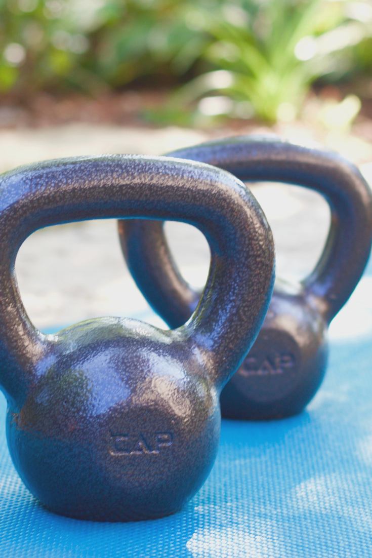 killer kettlebell full body workout. www.cardiocoffeeandkale.com