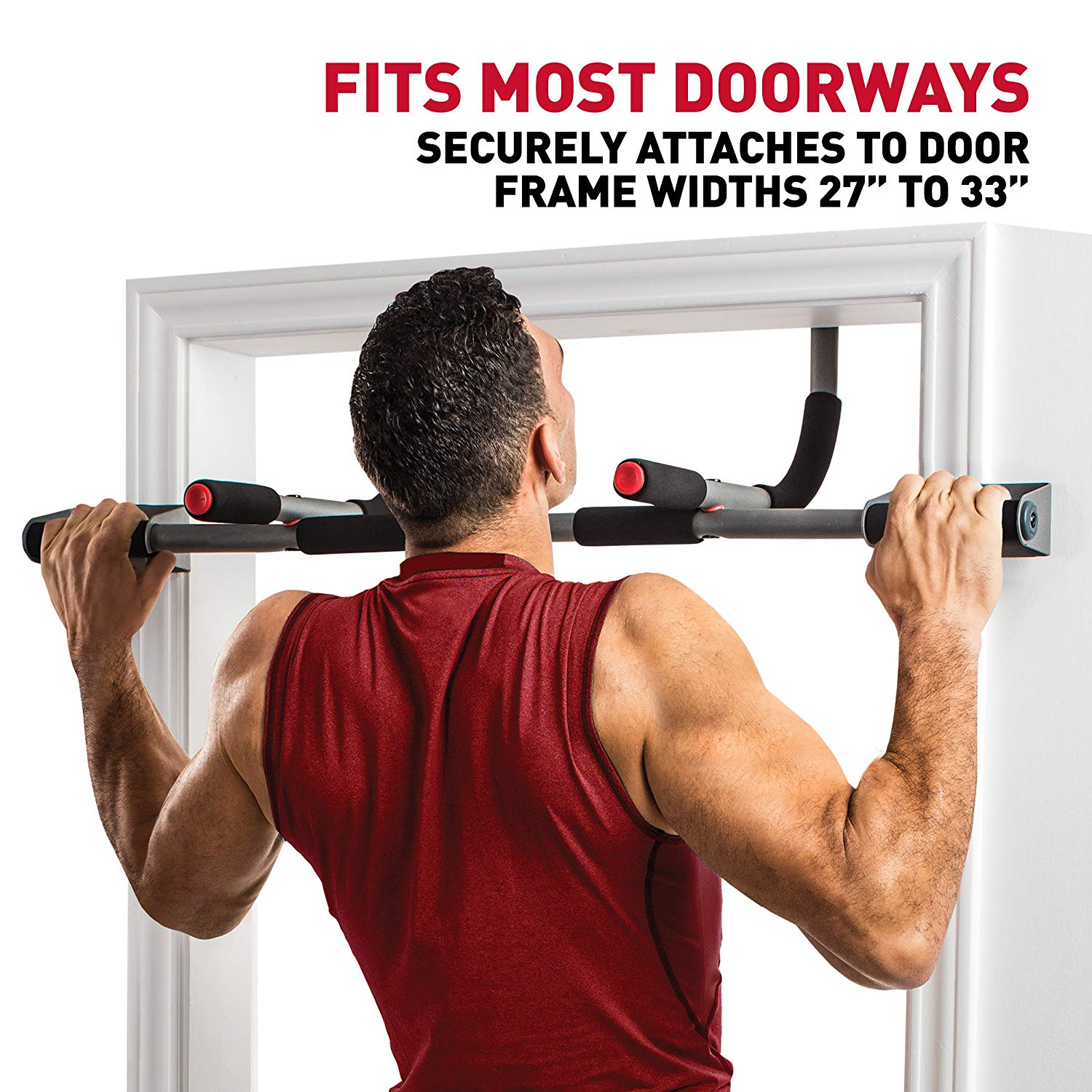 Perfect Fitness Multi-Gym Doorway Pull Up Bar Portable Gym System