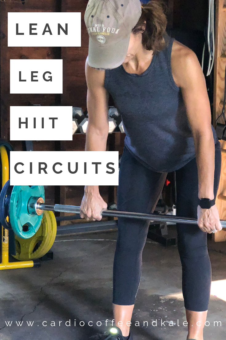 lean leg hiit circuits!  the perfect leg hiit workout! www.cardiocoffeeandkale.com