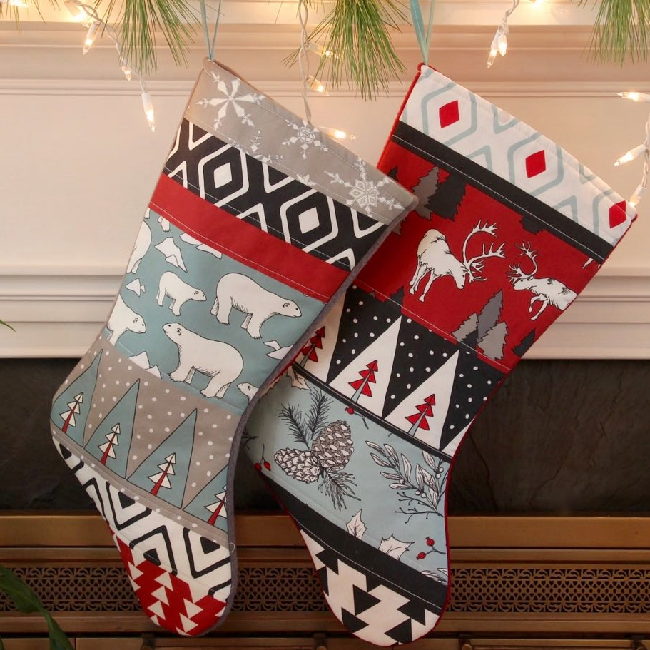 Christmas stockings Reindeer - Spruce OldeRed PBear - 2.jpg