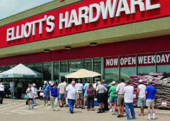 Hardware and Finishes - Since 1947, Elliot's Hardware has done it the way we always wanted. Quality Cabinet Hardware, Fine Finishing Products, A tremendous array of grill and outdoor supplies and a ton more! Be sure to grab a Frosty Root Beer on the way out. Your Welcome :)