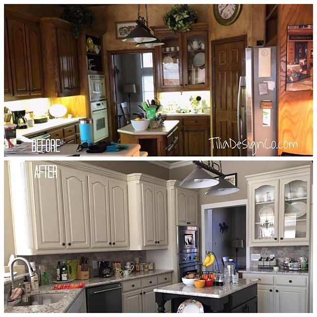 Kitchen Renovation🛠🌟 We worked with our client to transform this dark outdated kitchen into a bright and calm style! We replaced the old island with a custom Built one that we made to match a photo reference our client gave us. Here's a list of all we did on this project: 🛠custom built range hood and island 🛠new lighting 🛠Cabinet Painting 🛠Wall and Trim Painting Call or message for your FREE quote today! . . . . #cabinets #kitchen #makersmovement #furniture #decor #homedecor #interiors #interiordesign #interiordecorator #dallastx #fortWorth #Southlake #Keller #Colleyville #dallasdesigndistrict #darling #darlingmovement #fauxfinishing #refinishingwood #woodworking #hgtv #fixerupper #bespoke #fashionista #style #dallashomes #craft #fineart