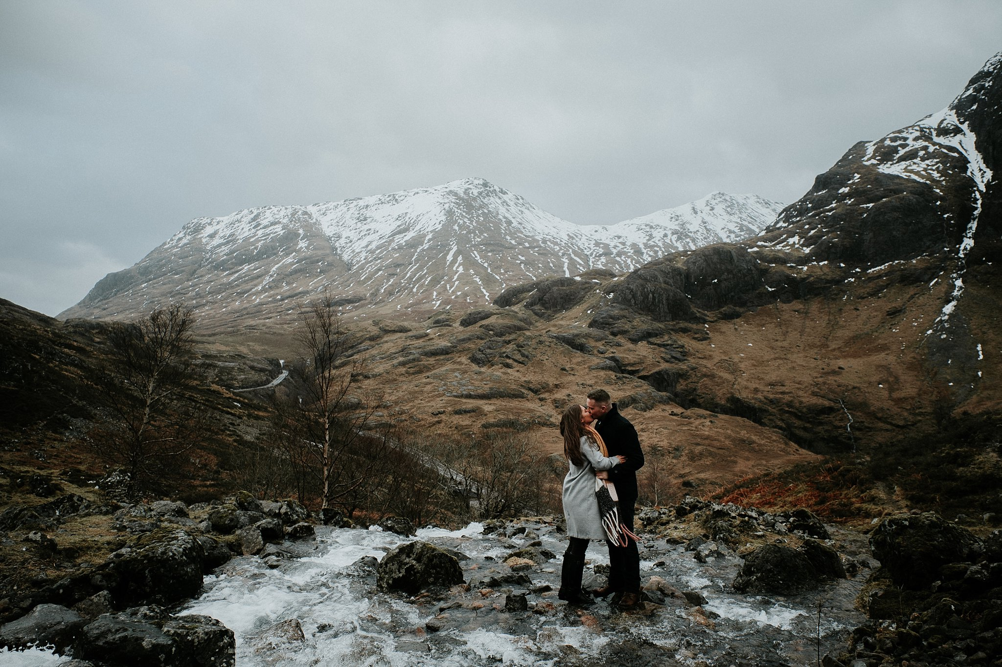 Amy & Shaun   Glen Coe   A day in the mountains