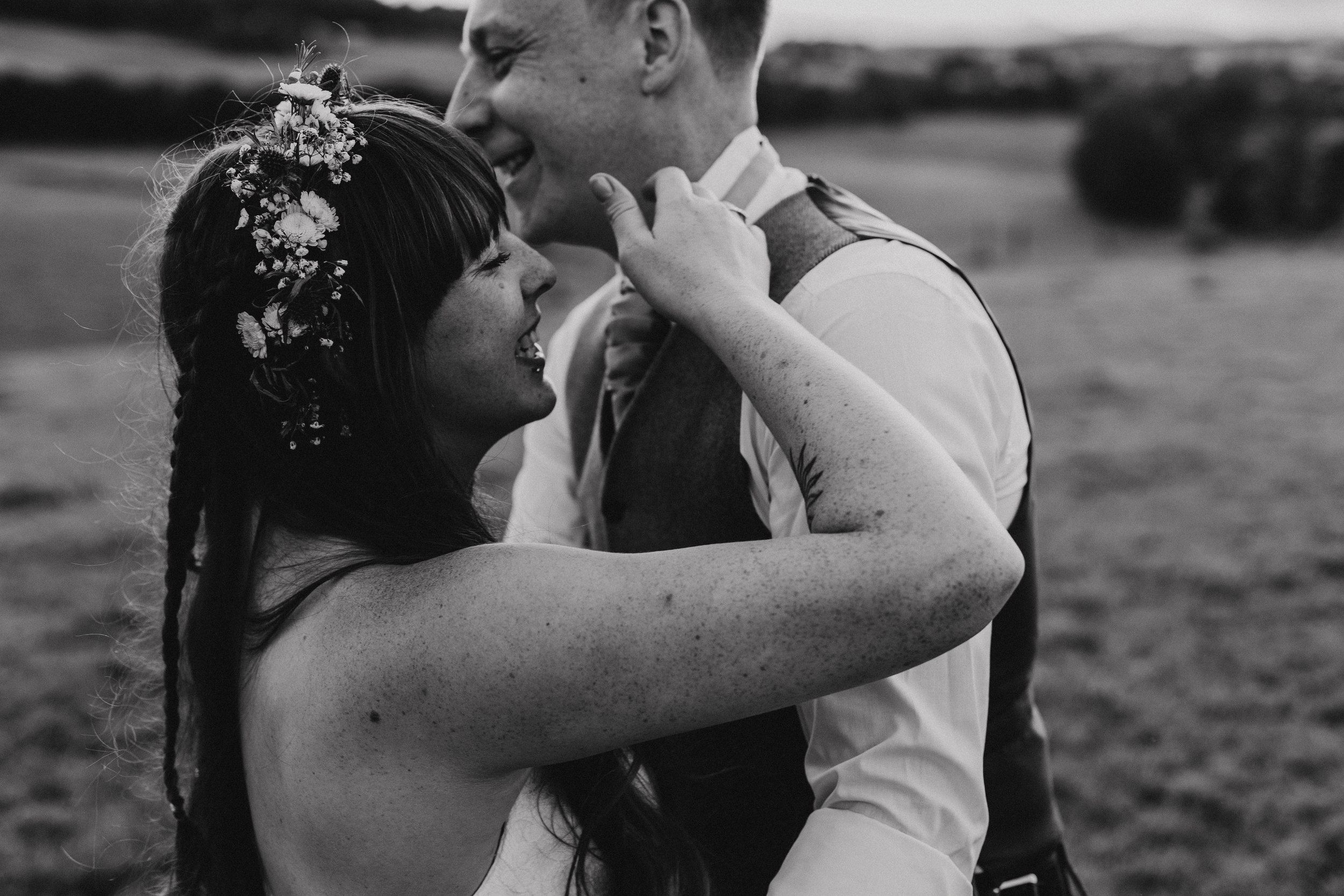 Megan & Craig   Knockraich Farm   The Tin Shed