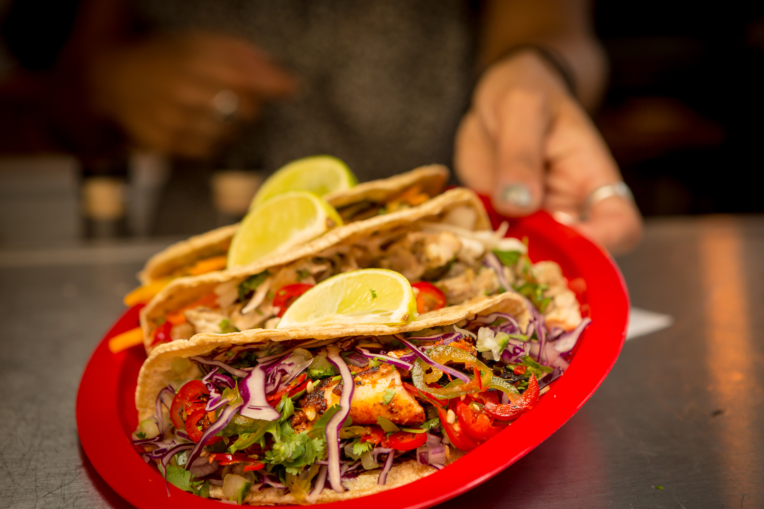 Elote's delicious tacos flew through the pass like, well, delicious tacos!