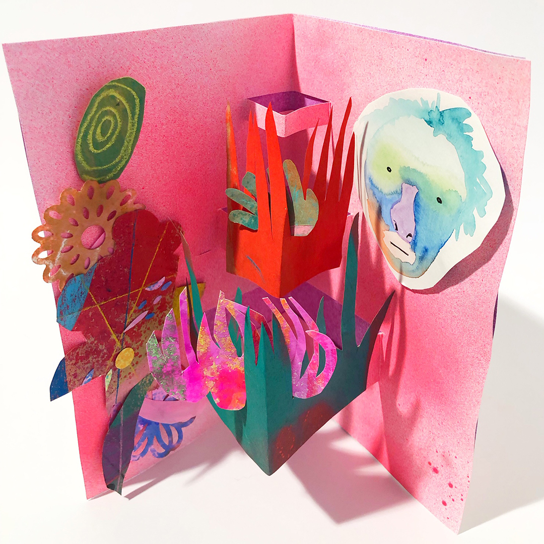 POP UP book by Beth Humphery