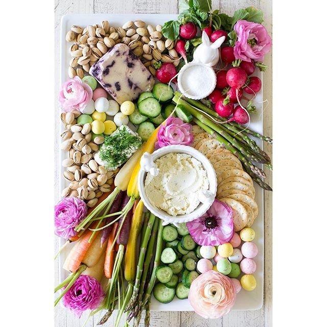 If your cheese plate at Easter doesn't look like this, what is even the point?! // @freutcake