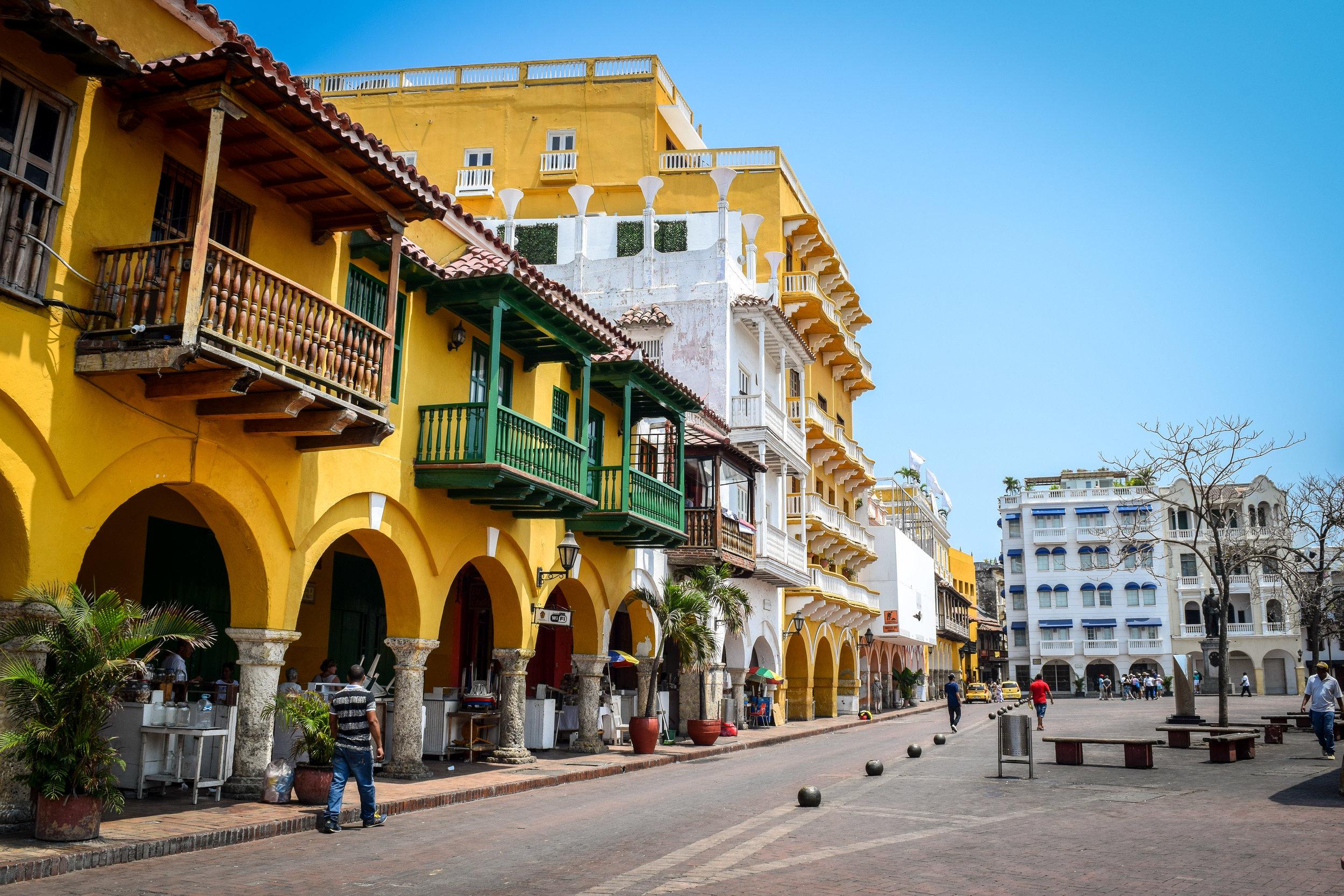 Cartagena's+Old+Town