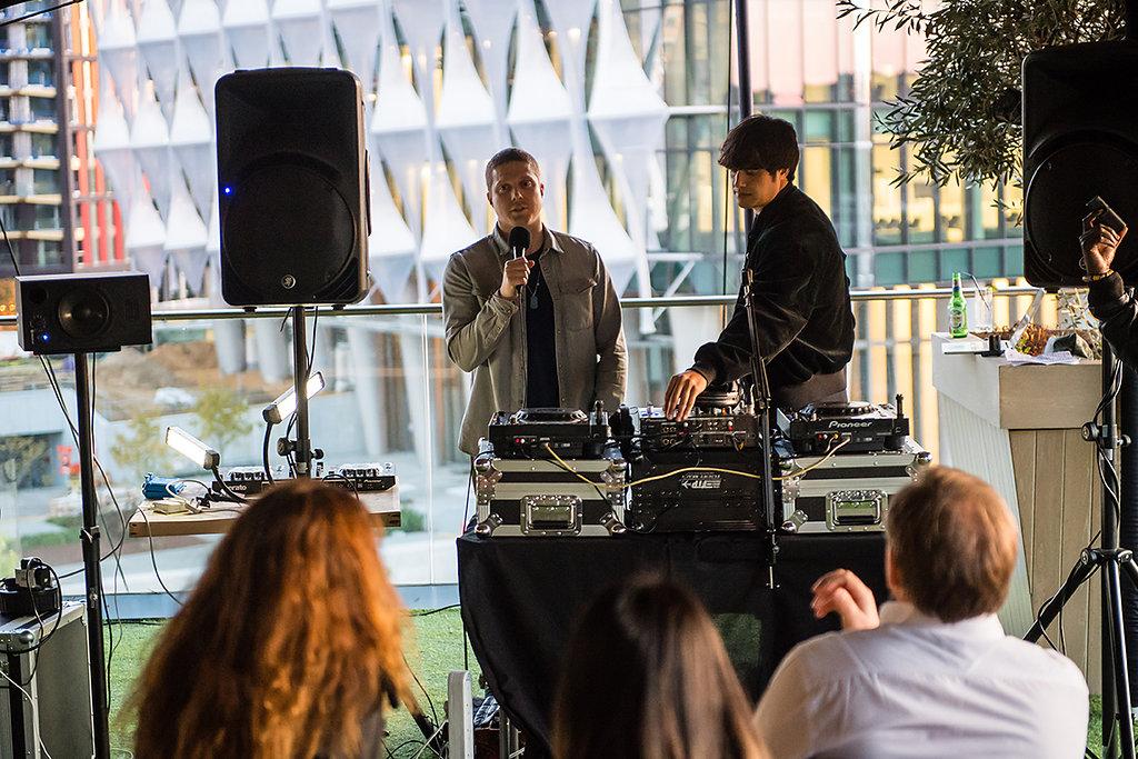 Teaching @ DJ Masterclasses, Embassy Gardens, London Sept 17.