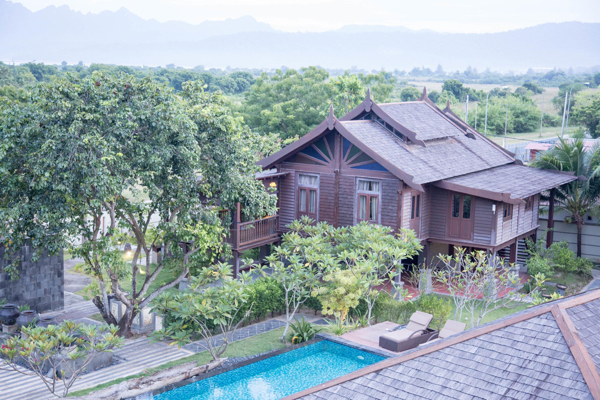 Rumah Trengganu: Our residence for 3 weeks!
