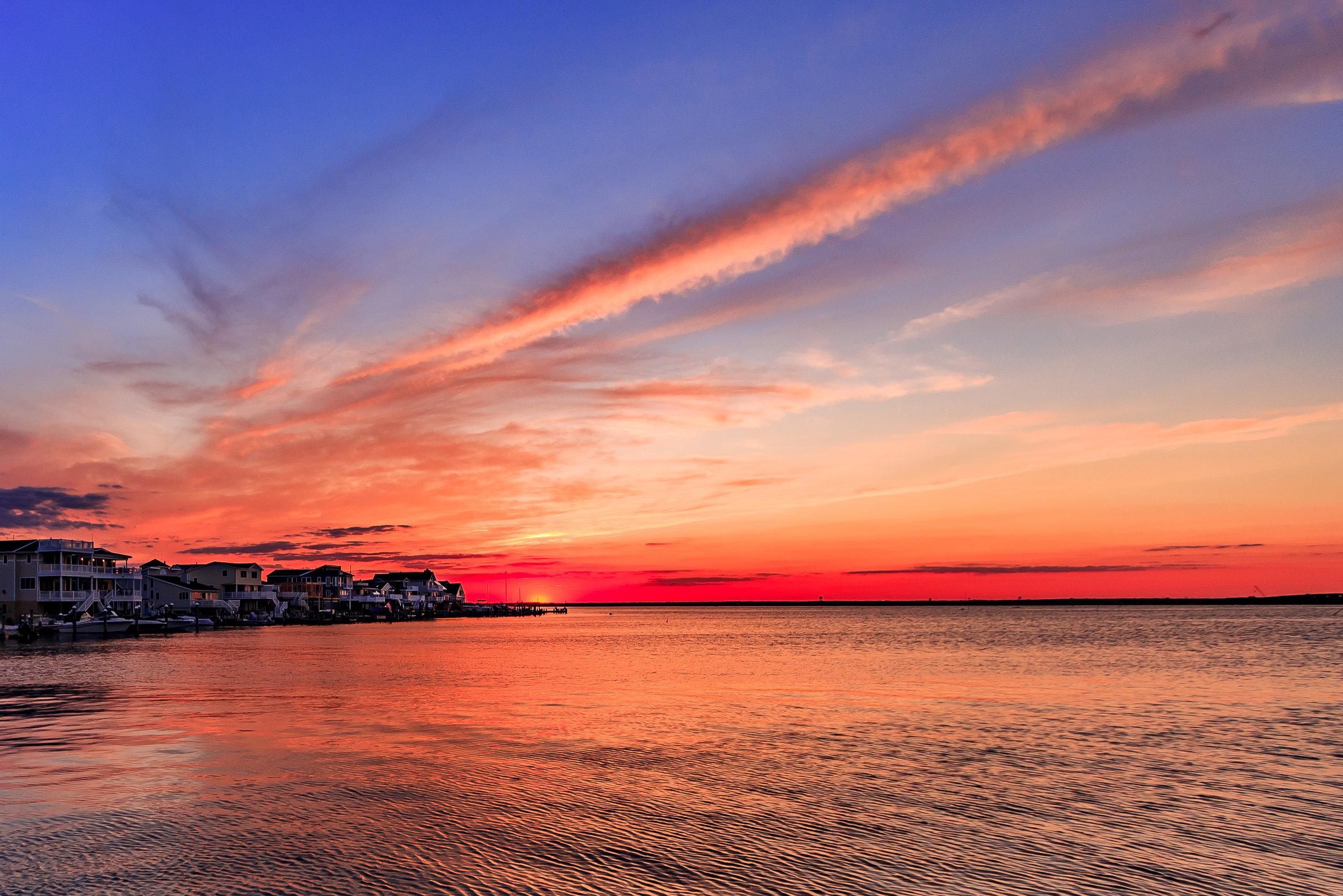 Sunset in Ship Bottom