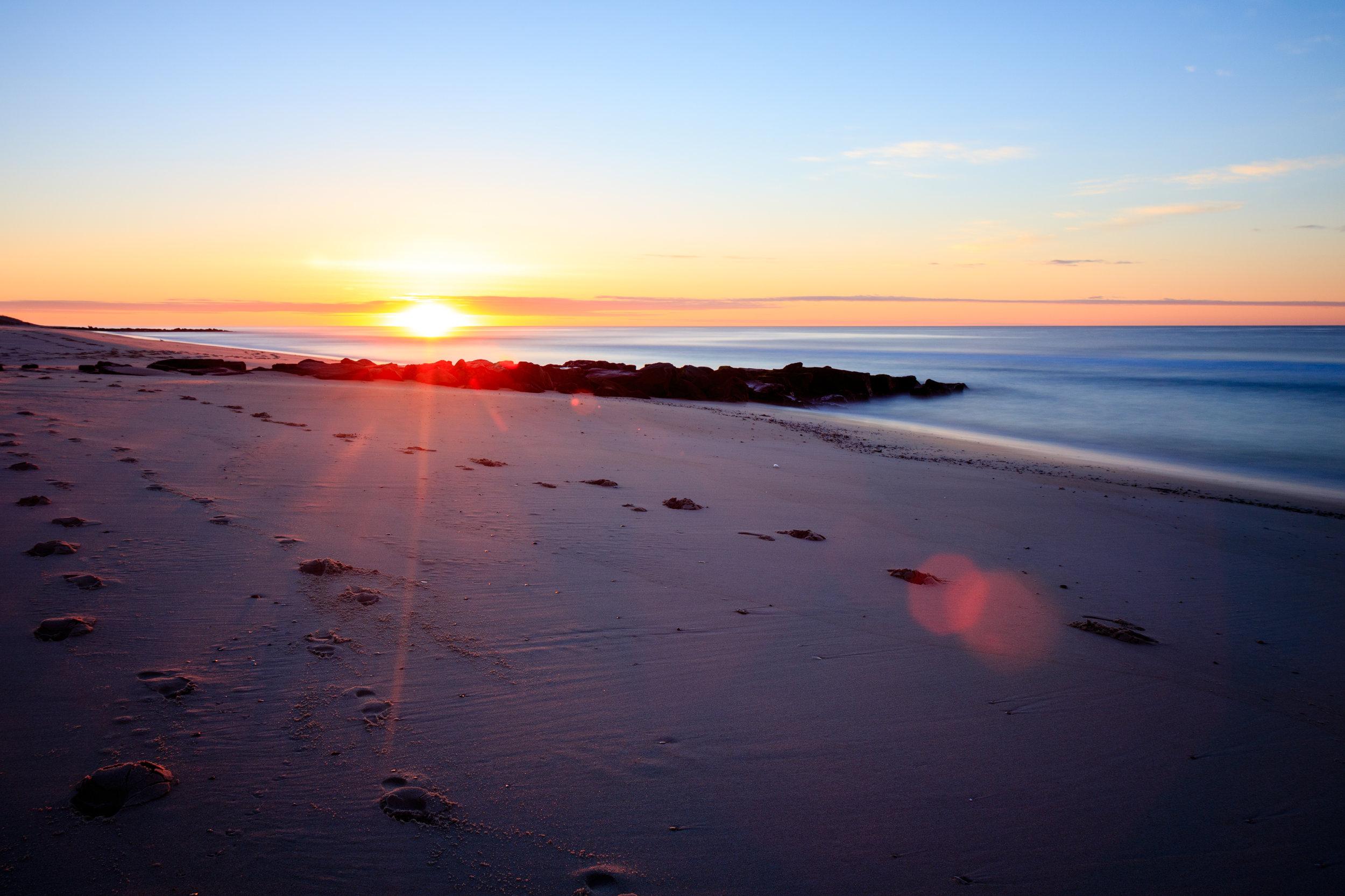 Sunrise in Beach Haven