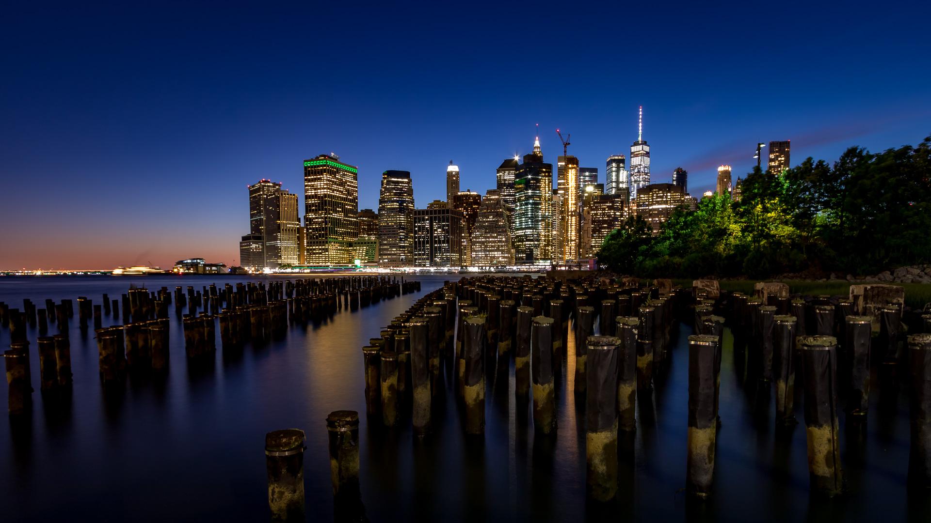 NYC Skyline from Brooklyn