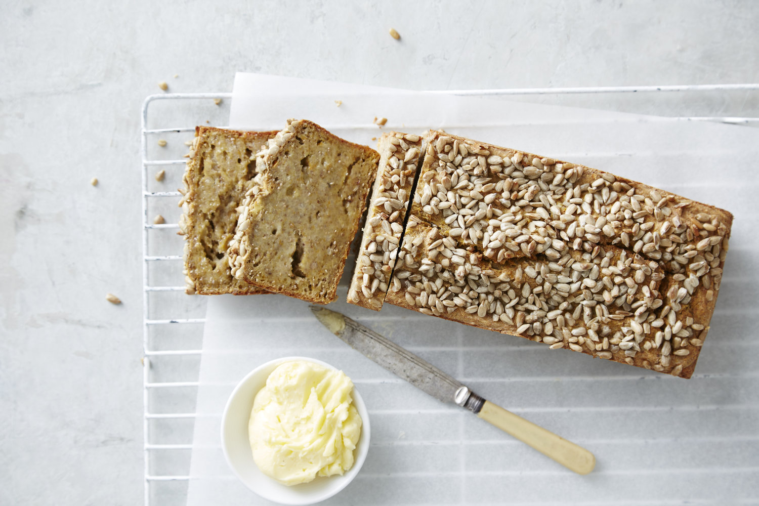 Allergy-Free Bread. I Quit Sugar 5-Day Detox. Photographer: Ella Martin. Stylist: Gemma Lush.
