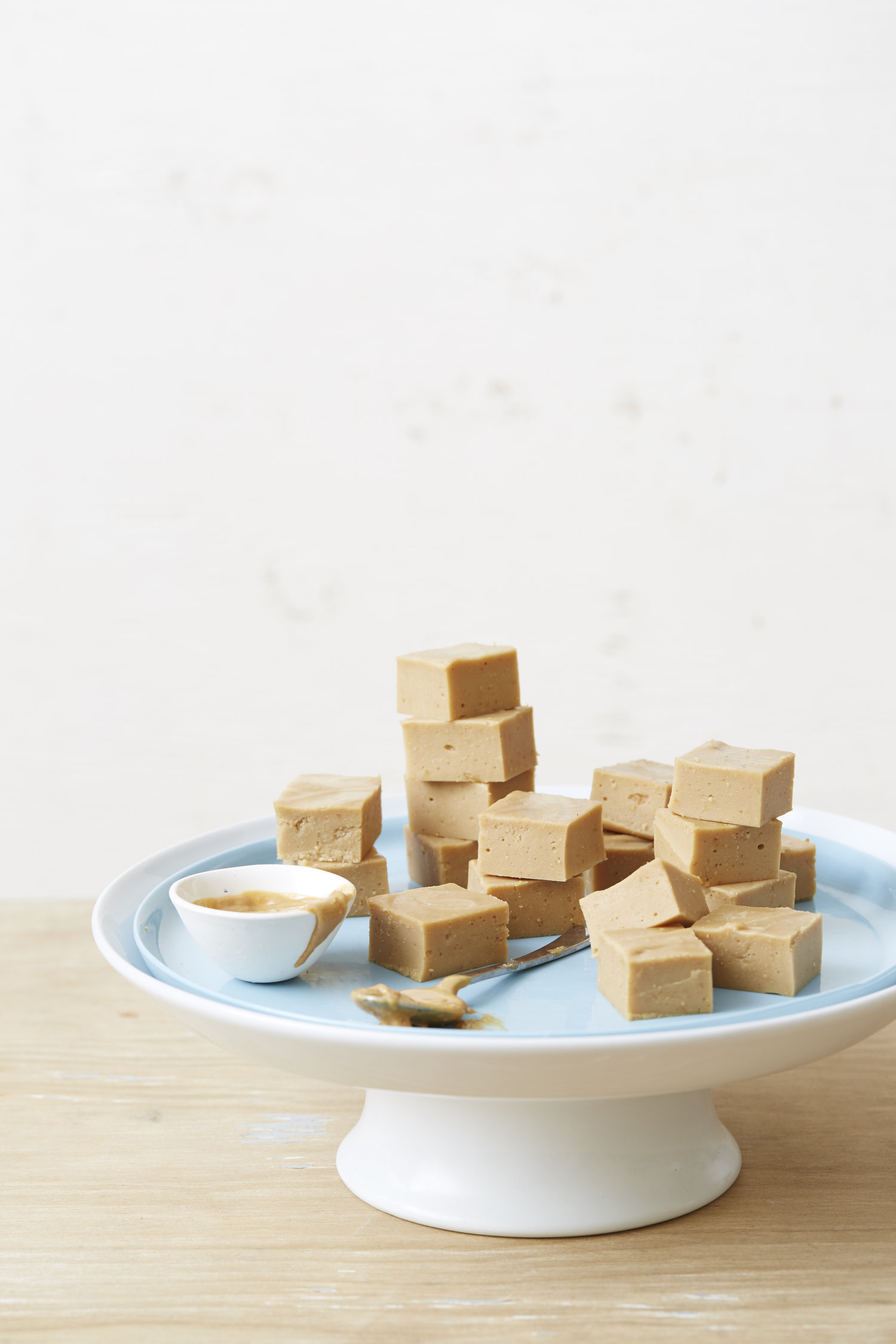 Supercharged Peanut Butter Fudge. I Quit Sugar. Photographer: Ella Martin. Stylist: Katie Graham.