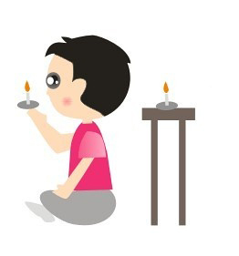 Using a candle to improve Agnya