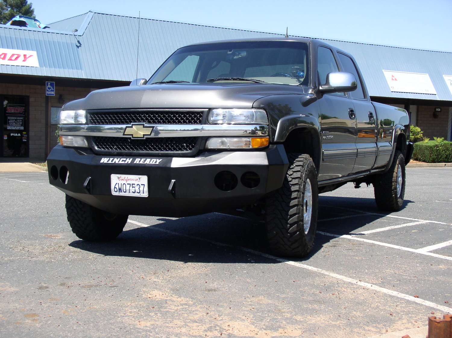 Chevy Models Winch Ready Bumpers