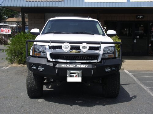 Chevy Suburban/Tahoe 2500/3500 — Winch Ready Bumpers