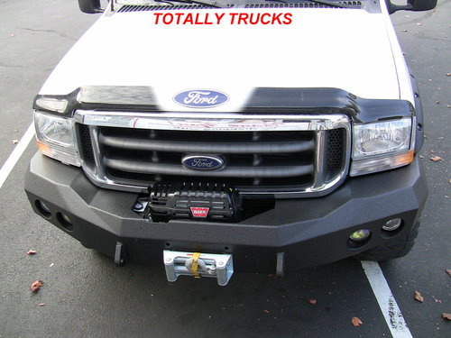 Ford Excursion Winch Ready Bumpers