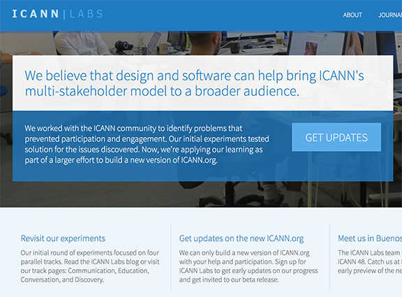 ICANN Labs  Research & Strategy
