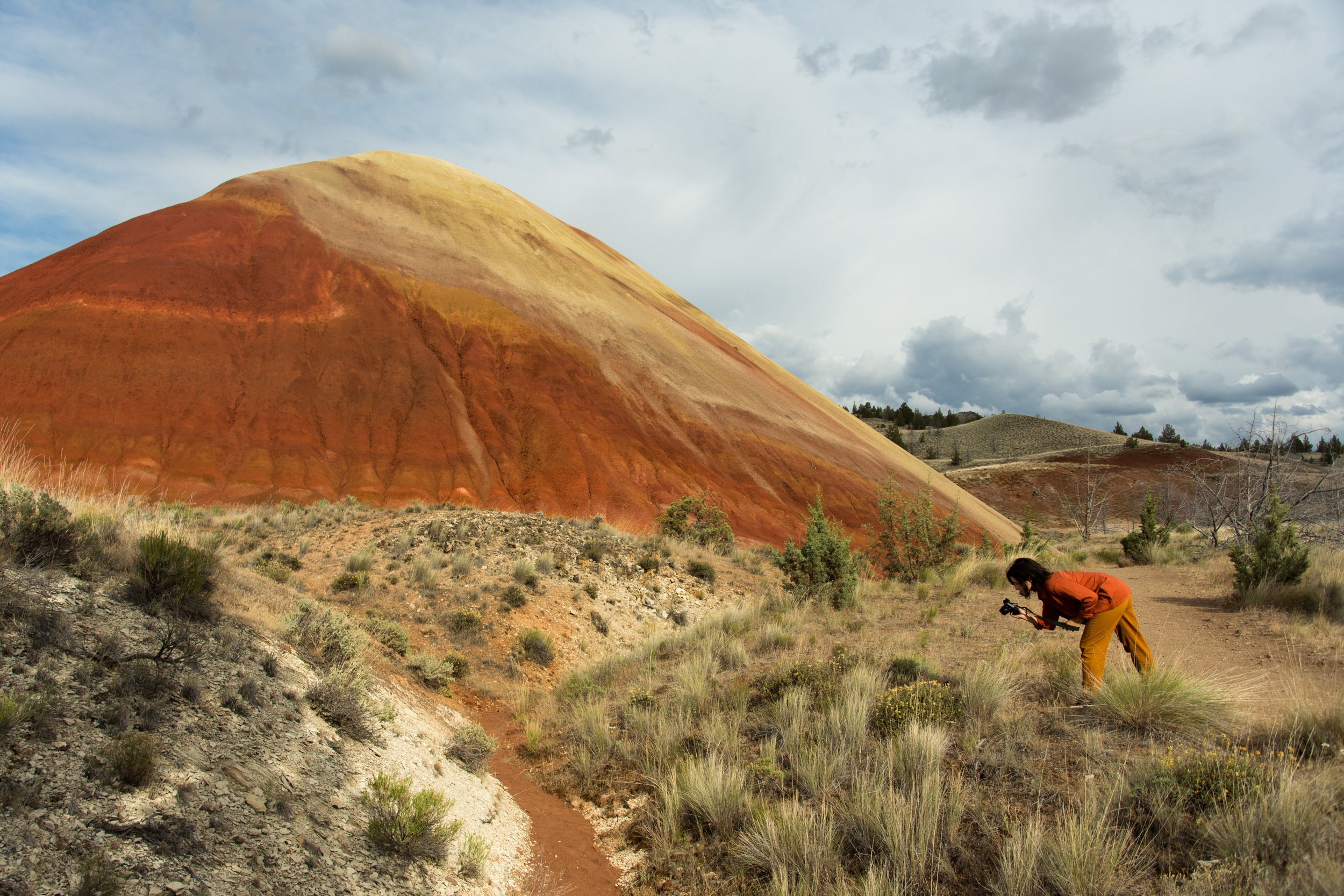 Kelsey Van Patten  Painted Hills, OR 2018