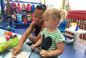 Teaching at Learning at the Point Kindergarten