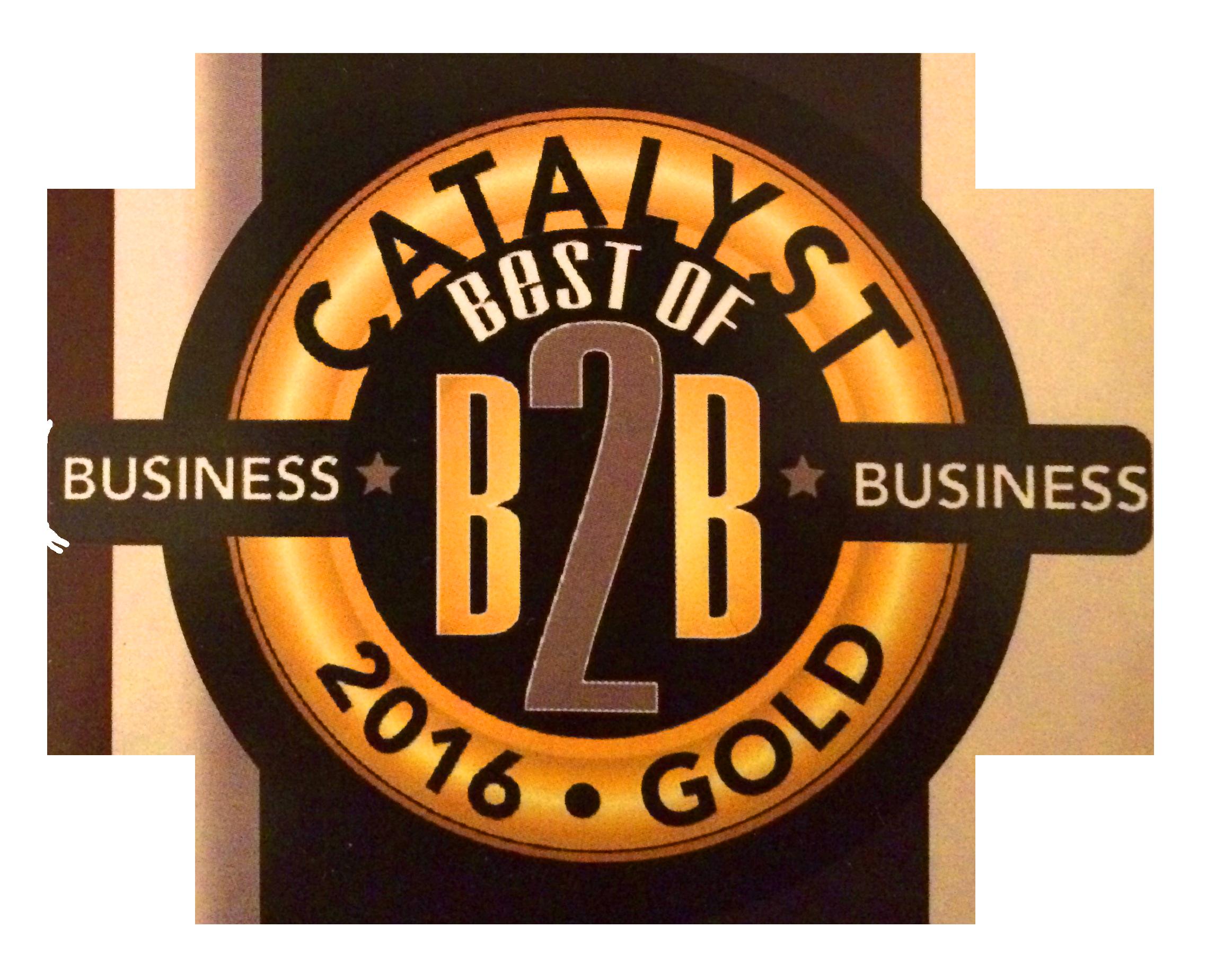 Best of B2B 2016 GOLD